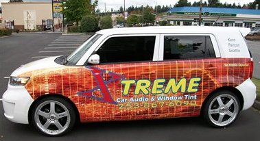 Vehicle Wraps applied for clients in Auburn, Kent, Federal Way, and Tacoma WA.